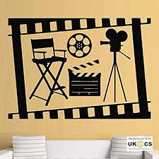 dekoration wall stickers cinema cool