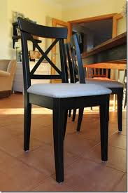Dining Room Chairs Ikea by Upholstered Version Of Ikea Ingolf Chair Super Easy To Do With