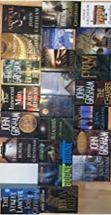John Grisham Hardcover Thriller Novel Collection 24 Book Set