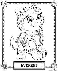 Paw Patrol Coloring Pages As Well Chase Page Super Spy C