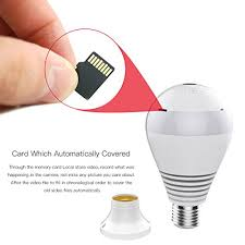 1080p wifi ip bulb wireless hd home security system