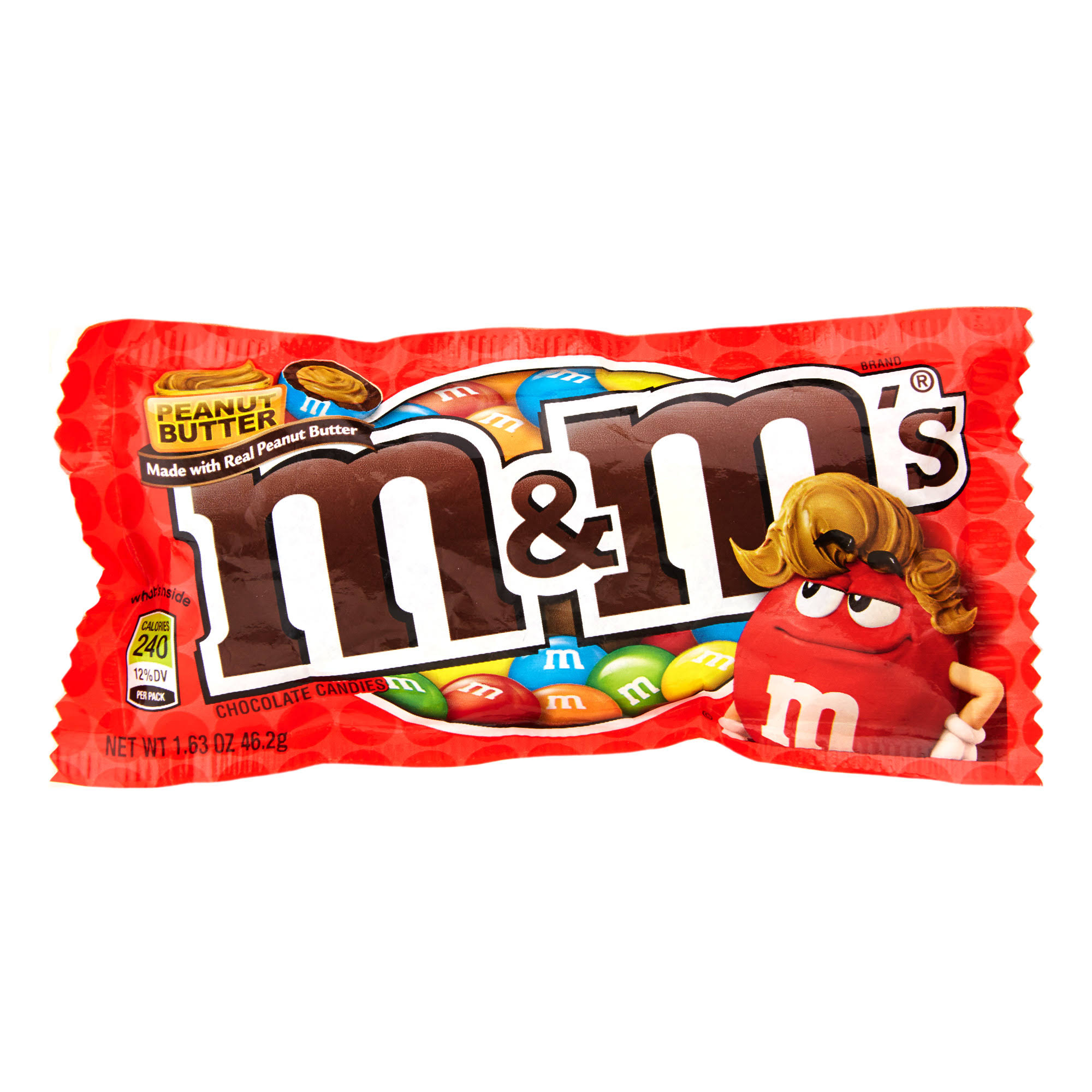 M and M'S Peanut Butter Chocolate Candy - 46.2g