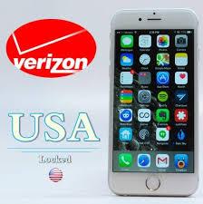 Verizon Unlock iPhone 7Plus 7 6 6S 6S Plus 5s 5c 5 Sim Unlock Phone