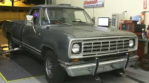 Watch 1973 Dodge D200 Cummins Be Converted Into A Rollin Coal Beast ...