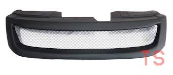 MATTE BLACK NET FRONT GRILL GRILLE FOR ISUZU HOLDEN D-MAX PICK UP ...