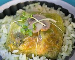 cuisiner chou frisé recette balluchons de chou frisé farcis aux légumes d automne