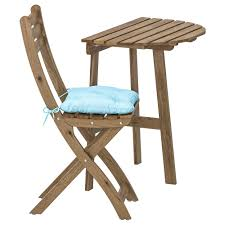 ASKHOLMEN - Wall Table & Folding Chair, Outdoor, Gray-brown Stained,  Kuddarna Blue Light Blue Storyhome Padded Metal Cafe Kitchen Garden And Outdoor Folding Chairn Cushioned Folding Chairs Patio Chairs Ideas Ikea Outdoor Lounge Slip Cover Chaise Chair Beach Light Weight Portable Cushion Grass Camping For Hiking Fishing Pnic Giantex 3pc Zero Gravity Recling Cushions Table Pnic Set Fniture Op3475cf Fridani Rcg 100 Chair Garden With Head Cushion 4way Adjustable Foldable 5800g Fniture 2 Pack Nps 3200 Series Premium Vinyl Upholstered Double Hinge Beige Medina Folding Chair Gray Set Of Details About 2seat Removable Sun Umbrella Blue Deck Bed Bedroom Living Room Nap Recliner Dover Pair