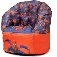 100 Kids Bean Bag Chairs Walmart Marvel SpiderMan Chair Com