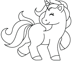 Unicorn Coloring Pages Free Printable Orango With 2512329