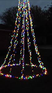 Flagpole Xmas Tree