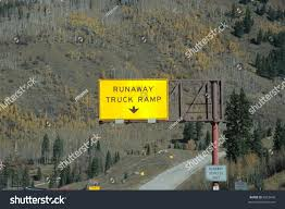 Runaway Truck Ramp On Interstate Colorado Stock Photo (Edit Now ... Runaway Truck Ramp About Trucking Jobs Blog Road Sign Runaway Truck Ramp Forest Stock Photo Edit Now 661650523 Roaming Rita Ramps Video Watch A Semi Slide Into Grapevine Kernam Truck Escape Ramps Semi Hauling Beer Rolls Off Cbs Denver Photos Images New Teton Pass Arrestor Works Saves Vehicle The Speed Killers Aoevolution Tales Of The Moose And Caboose Closed