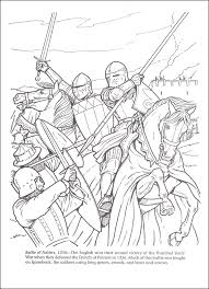 Horses In Battle Coloring Book 016829 Details