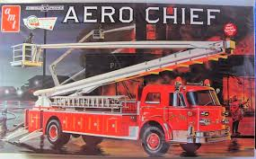 American Lafrance Fire Truck - AMT | Car-model-kit.com