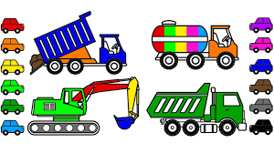 Construction Truck Coloring Pages To Learn Colors, Car Coloring ... Book Truck A Day Magazine Five Cars Stuck And One Big Truck Book By David Carter 1022 How To Track A Jason Eaton John Rocco My Walmartcom Penguin Mobile Bookstore To Hit The Road This Summer Roger Priddy Macmillan Driver Theory Test Bus Food Truck Las Vegas 360 Book Of Trucks At Usborne Books Home First 100 Trucks Board Toysrus Noisy Fire Sound