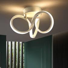 zmh led deckenleuchte deckenle wohnzimmer schlafzimmer deckenbeleuchtung 19w innen 3000k warmweiß kaufen otto
