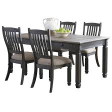 Signature Design By Ashley Tyler Creek Relaxed Vintage 5-Piece Table ... Lofty Inspiration Round Ding Table Set For 2 Fresh Small Kitchen Corliving Bistro Pewter Grey Chairs Of The Home Sunny Designs Homestead And Chair For Two Sparks Coaster Dinettes Casual 3 Piece Value City Liberty Fniture Lucca 535dr52ps Formal 5 Pedestal Decenthome Light Gold Metal Seat Medium Size Of Owingsville Rectangular Room 6 Side D58002 Primo Intertional Hyde Counter Height Illinois Tone Large 72 With 8 Dunes Reclaimed Wood Ding Chairs Set Two By The Orchard Winsome Lynden Stackable Outdoor