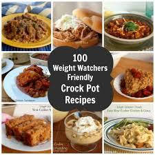 cuisine ww 100 weight watchers crock pot recipes with smartpointsplus