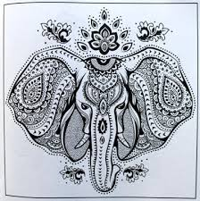 Adult Coloring Books A Book For Adults Featuring Mandalas And Henna Inspired Flowers