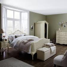 Feminine Rustic Style Bedroom In Creams And Pastels