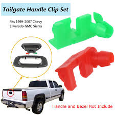 Tailgate Handle Door Lock Rod Clip RH LH Set GM Chevy Silverado GMC ... I Have A 2010 Frontier In Which The Tailgate Lock Mechanism Came Covers Truck Bed Cover Locks 4 Locking Roll N Isuzu Dmax Central Tailgate Lock Eagle1 Ford Ranger T6 Eagle 1 Power Youtube Master Work Security Product Spotlight Trend Latch Repair Chevy Gmc Custom Fabrication Projects By Wr Motoloader Accessory Intertional Handle Door Rod Clip Rh Lh Set Gm Silverado Mcgard 76029 Amazon Canada Heavy Duty With Lockable Catch The Tool Box Tailgates Make An Easy Target For Thieves