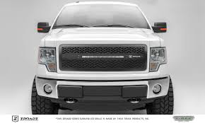 100 Grills For Trucks 20132014 F150 ZROADZ Grille Black 1 Pc Insert Incl 1 20 LED PN Z315721