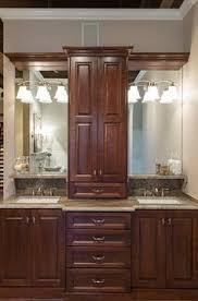 Bathroom Vanity Tower Cabinet by Bathroom Vanity With Tower Google Search Bathrooms Pinterest