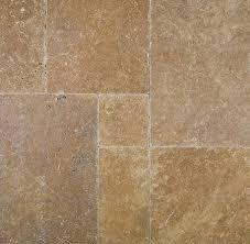 noce premium tumbled travertine tile versailles pattern