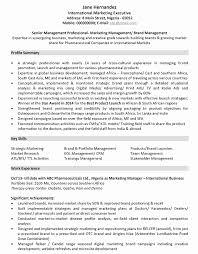 Marketing Resume Samples 9
