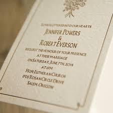 Rustic Brown Bouquet Letterpress Wedding Invitations EWLP002 2
