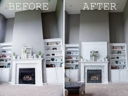 diy fireplace tile surround custom build 盪 a step inside