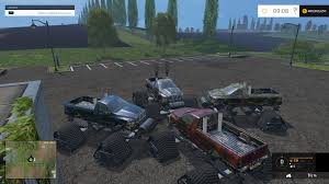 100 Monster Truck Simulator Camo For FS 2015 Farming Simulator 2019 2017
