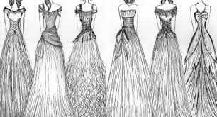 Easy Fashion Prom Sketches Dresses Google Search
