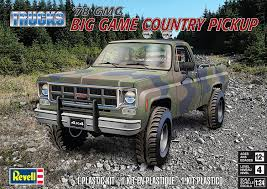 1/24 Revell '78 GMC 4x4 Pickup - Truck Kit News & Reviews - Model ...