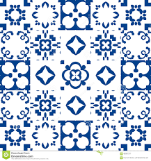 portugal blue and white ceramic azulejo tiles stock photo image