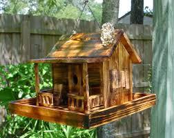 Image Of Rustic Birdhouses Cabin