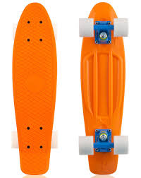 Penny Skateboard Complete - Orange, Blue, White Wheels - Original 22 ... All Kinds Of Wheels And Related Accsories Maxfind Red Set Tandem Axle Wheel Kit Skateboard Cruiser Longboard Penny Skateboards Raw Skin Surf Shack Mini Board Worker Pico 17 With Light Up Wheels Sportline Will They Shred X The Simpsons Bart 27 Blue Buy At Skatedeluxe Battleship 32 Wtrmln Nickel Hundreds Skater Hq Skatro White Boards Theeve Csx V3 Trucks In Atbshopcouk