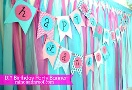 Simple Diy Birthday Banner Tutorial Party Decoration Ideas 6