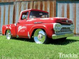 1960 Ford F100 - 292 Y-Block V8 Engine - Truckin' Magazine Why Nows The Time To Invest In A Vintage Ford Pickup Truck Bloomberg 1960 F100 Classics For Sale On Autotrader This Sema Build Will Make You Say What Budget Wheels Pinterest Trucks And Classic Ranchero Red Motormax 79321acr 124 F1 Street Legens Hot Rods The Show 2016 Youtube Ford 12 Ton Short Bed 460 Big Block Power C6 Frankenford With Caterpillar Diesel Engine Swap Classiccarscom Cc708566 To 1970 Trucks For Best Resource Nice Lowered Stance Satin Black Paint Job