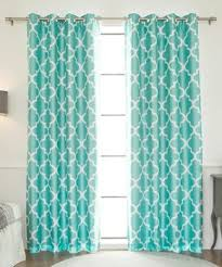Moroccan Tile Curtain Panels by Beautiful Blackout Curtains Zulily