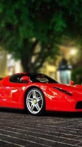 Ferrari Red Sports Car Wallpaper Free iPhone Wallpapers