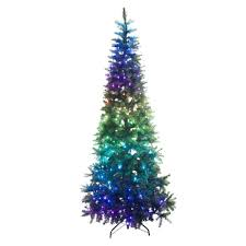 6ft Smart App Controlled Pre Lit Twinkly Christmas Tree