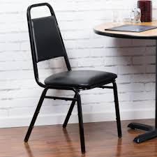 Stackable Banquet Chairs With Arms by Lancaster Table U0026 Seating Black Stackable Banquet Chair With 1