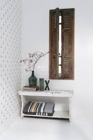 wohnzimmer tapete anker weiß und dunkelblau 138965