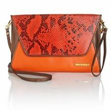 2995IMAN Global Chic Summer Style Python Print Color Clutch At HSN