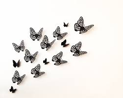 Erfly Wall Art 15 Morpho Filigree By Hipandclavicle On Etsy
