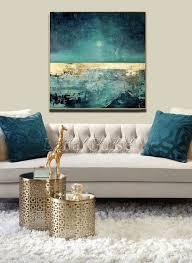 weicher tanz große abstrakte malerei platz wohnzimmer