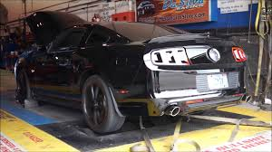 2014 Mustang GT Baseline Dyno Nearly Stock Pulls