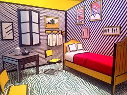 100 Pop Art Bedroom For The People Roy Lichtenstein In LA At Skirball