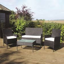 4-Piece Outdoor Garden Black Rattan Wicker Chairs & Table Set 3pc Black Rocker Wicker Chair Set With Steel Blue Cushion Buy Stackable 2 Seater Rattan Outdoor Patio Blackgrey Bargainpluscomau Best Choice Products 4pc Garden Fniture Sofa 4piece Chairs Table Garden Fniture Set Lissabon 61 With Protective Cover Blackbrown Temani Amazonia Atlantic 2piece Bradley Synthetic Armchair Light Grey Cushions Msoon In Trendy For Ding Fabric Tasures Folding Chairrattan Chairhigh Back Product Intertional Caravan Barcelona Square Of Six