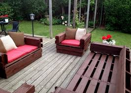 Outdoor Patio Furniture Made From Pallets Thediapercake Home Trend